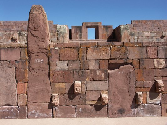 Tiwanaku: Spiritual and Political Centre of the Tiwanaku Culture ref:567rev